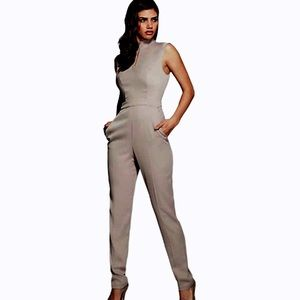 NWT GUESS by Marciano Femme Bernice (JumpSuit) Tan